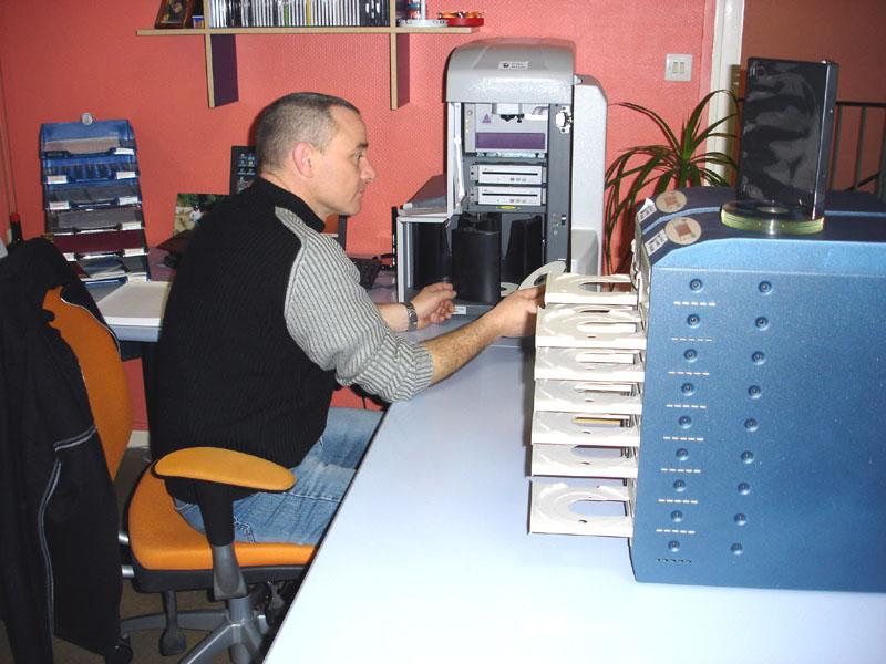 Le monde de l'imprimerie. Presse12