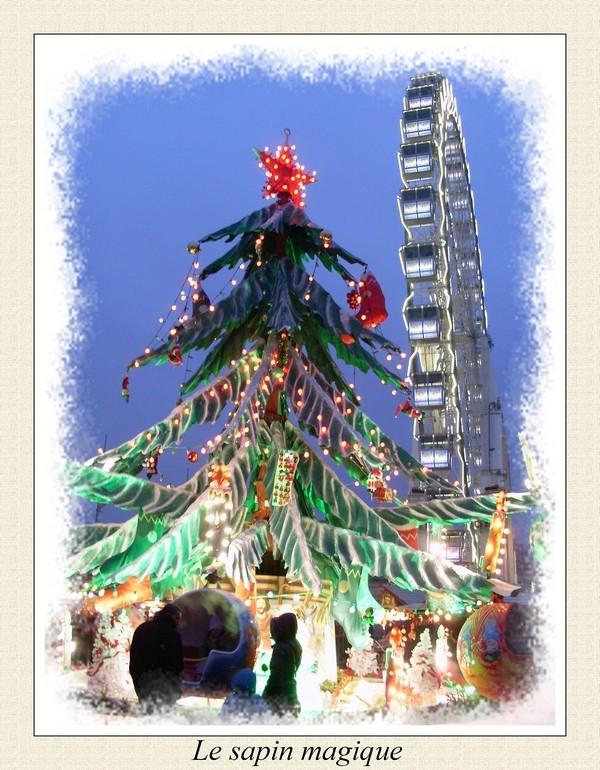 Concours photo du mois de décembre 2010. Thème : Féerie de Noël Sapin10