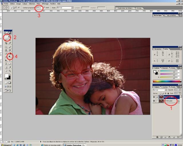 Comment supprimer un halo ? Photoshop CS et Element St10