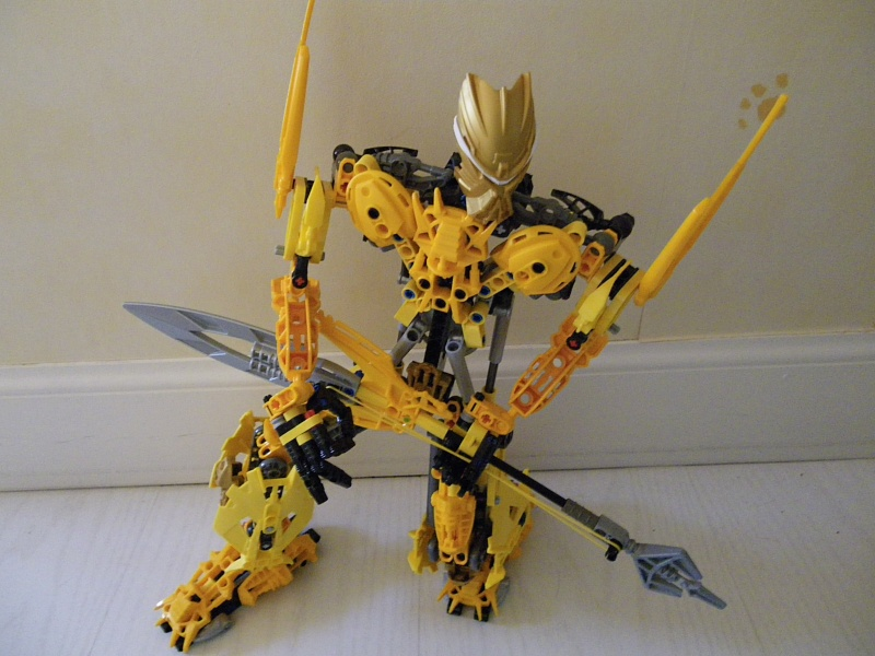 [MOC] Mata-Nui the god of the rock n' roll! Imgp0810