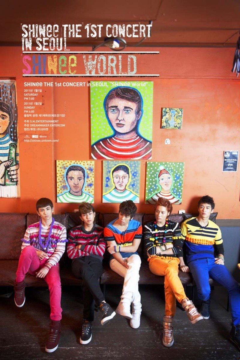 [NEWS]SHINee 1st Concert in Seoul Poster 1stcon10