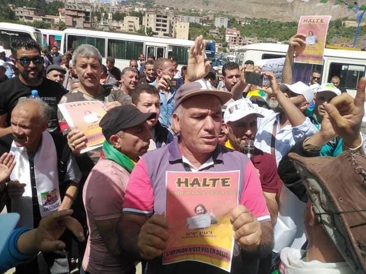 Rassemblement à Aokas pour exiger la libération de la militante Haddad Nora le dimanche 23/05/2021 - Page 2 101002