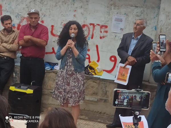 Rassemblement à Aokas pour exiger la libération de la militante Haddad Nora le dimanche 23/05/2021 - Page 2 101005
