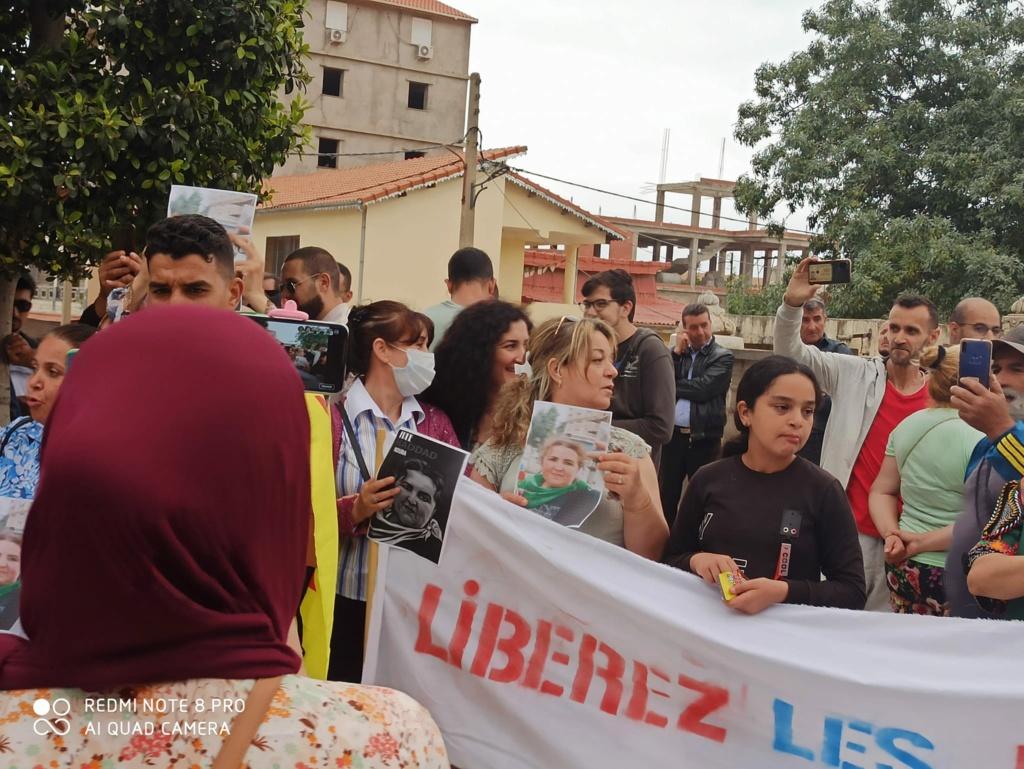 Rassemblement à Aokas pour exiger la libération de la militante Haddad Nora le dimanche 23/05/2021 - Page 2 101008