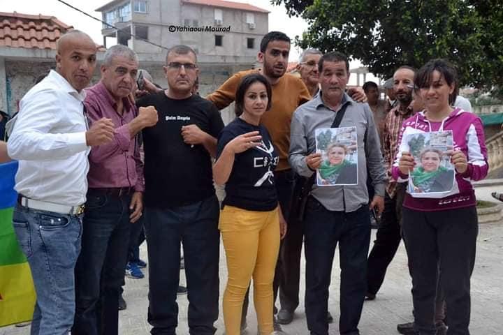 Rassemblement à Aokas pour exiger la libération de la militante Haddad Nora le dimanche 23/05/2021 - Page 2 101009