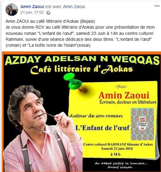 Amin Zaoui a fait sensation à Aokas le samedi 23 juin 2018 10124