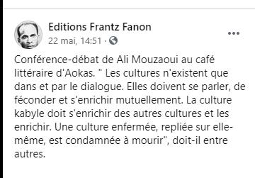 Ali Mouzaoui à Aokas le samedi 22 mai 2021 1014
