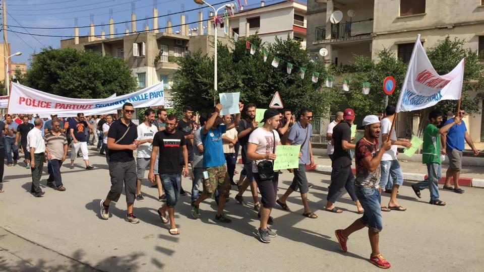 Marche contre la construction d'un Célibatorium à Aokas le 15 septembre 2018 10332