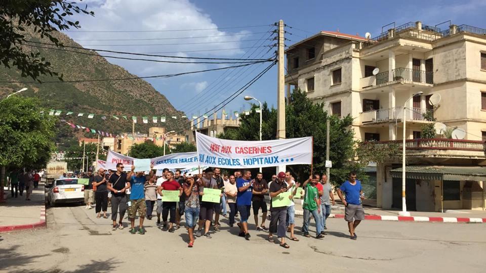 Marche contre la construction d'un Célibatorium à Aokas le 15 septembre 2018 10333