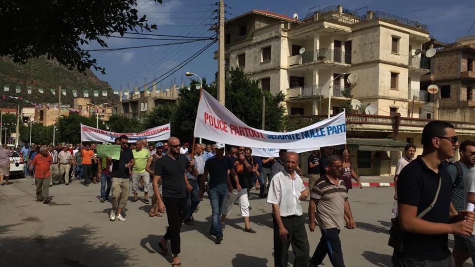 Marche contre la construction d'un Célibatorium à Aokas le 15 septembre 2018 10334