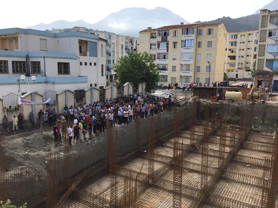 Marche contre la construction d'un Célibatorium à Aokas le 15 septembre 2018 10336
