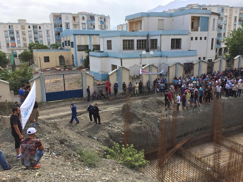 Marche contre la construction d'un Célibatorium à Aokas le 15 septembre 2018 10337