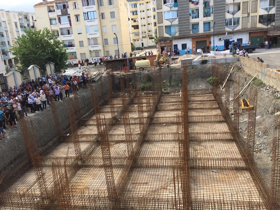 Marche contre la construction d'un Célibatorium à Aokas le 15 septembre 2018 10338