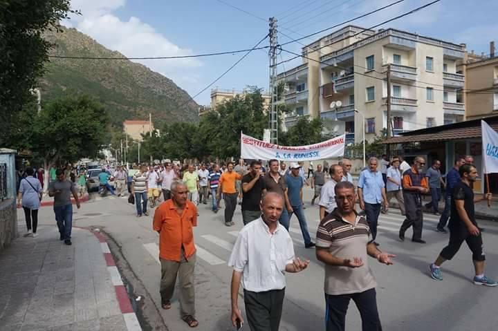 Marche contre la construction d'un Célibatorium à Aokas le 15 septembre 2018 10341