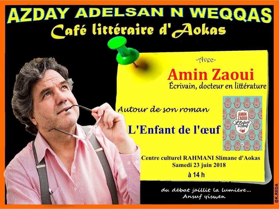 Amin Zaoui à Aokas le samedi 23 juin 2018 1056
