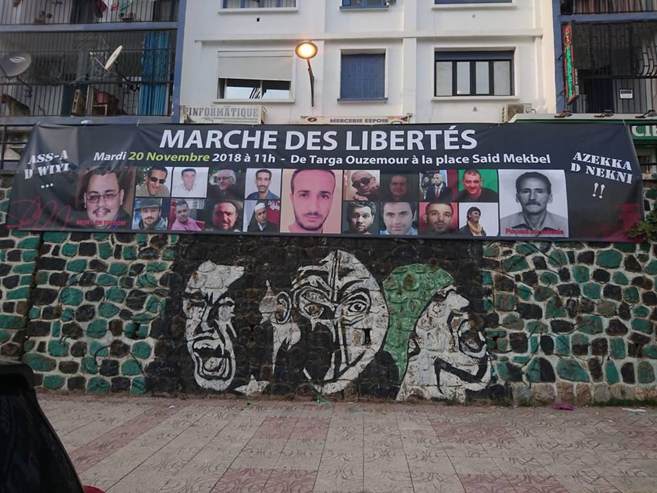 Marche des libertés à Bejaia le mardi 20 novembre 2018 10787