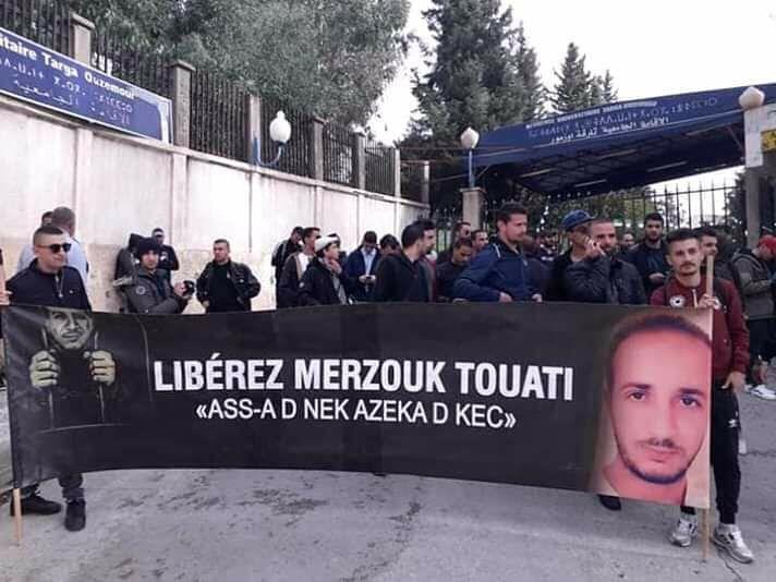 Marche des libertés à Bejaia le mardi 20 novembre 2018 10788