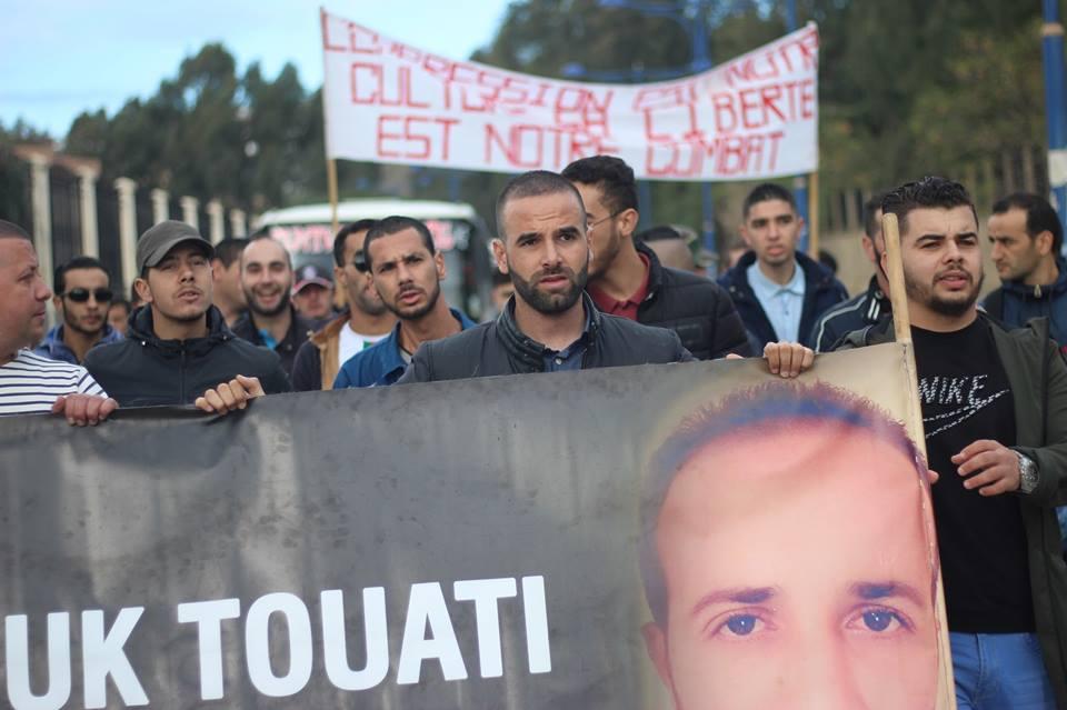 Marche des libertés à Bejaia le mardi 20 novembre 2018 10795