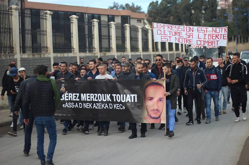 Marche des libertés à Bejaia le mardi 20 novembre 2018 10797