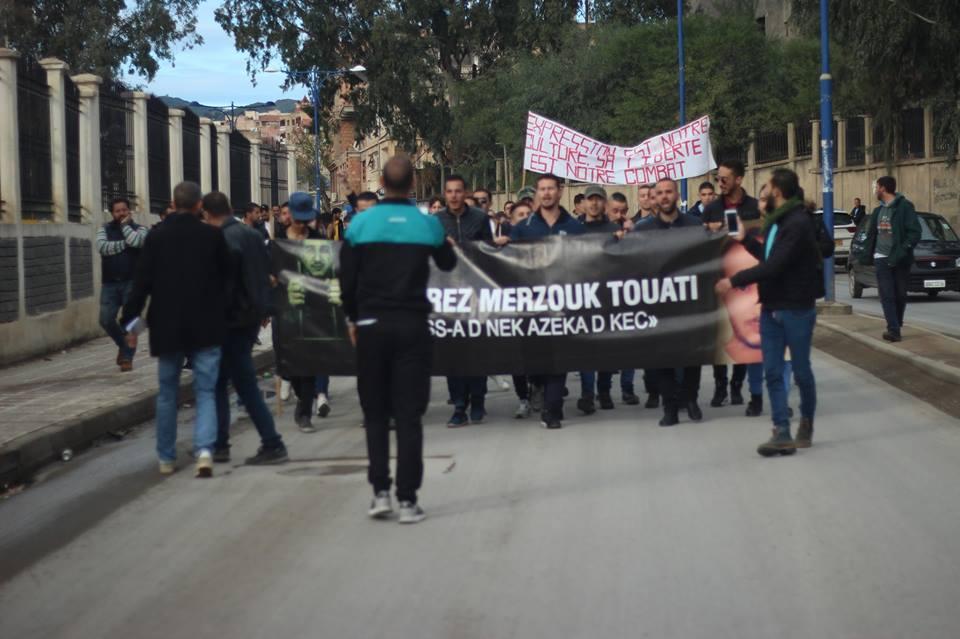 Marche des libertés à Bejaia le mardi 20 novembre 2018 10799