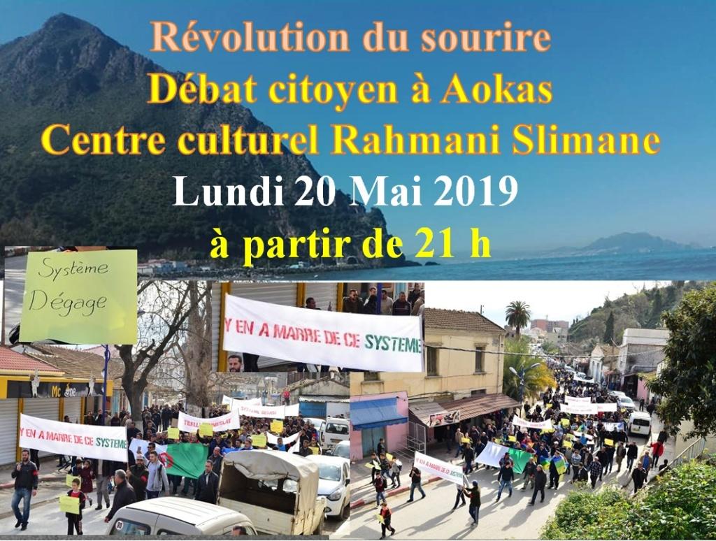 Révolution du sourire, débat citoyen à Aokas le lundi 20 mai 2019 10851