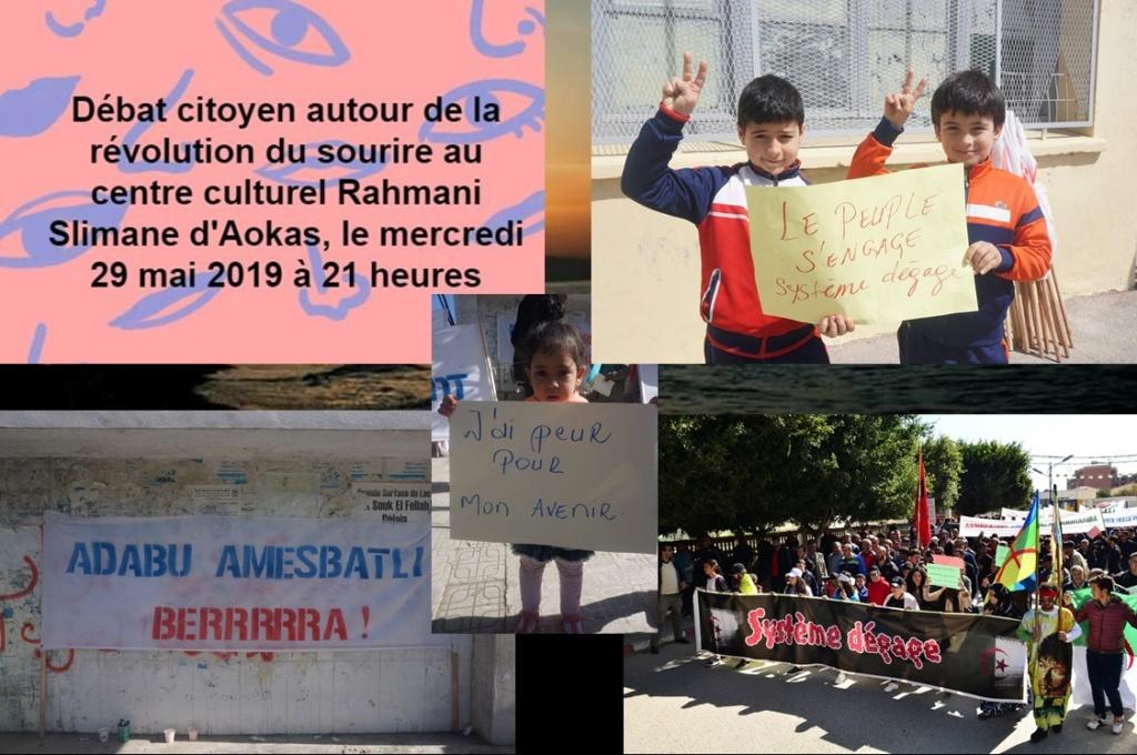 Révolution du sourire, débat citoyen à Aokas le mercredi 29 mai 2019 10852