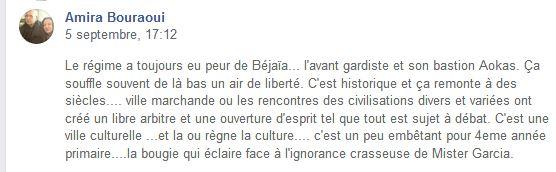 Le régime a toujours eu peur de Béjaïa... l'avant gardiste et son bastion Aokas Amira Bouraoui 10856
