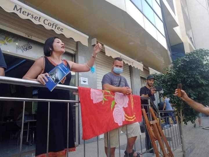 Marche à Tichy le jeudi 24 septembre 2020 pour liberer la culture 10873