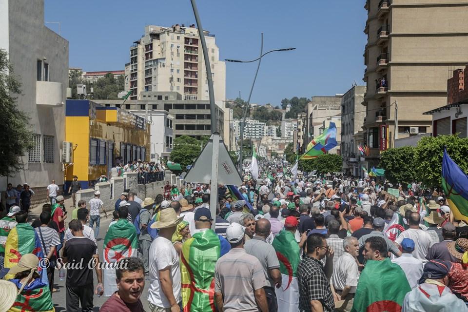 BEJAIA 19 JUILLET 2019: 22eme semaine de marches pacifiques 11007
