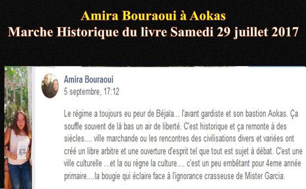 Le régime a toujours eu peur de Béjaïa... l'avant gardiste et son bastion Aokas Amira Bouraoui 11020