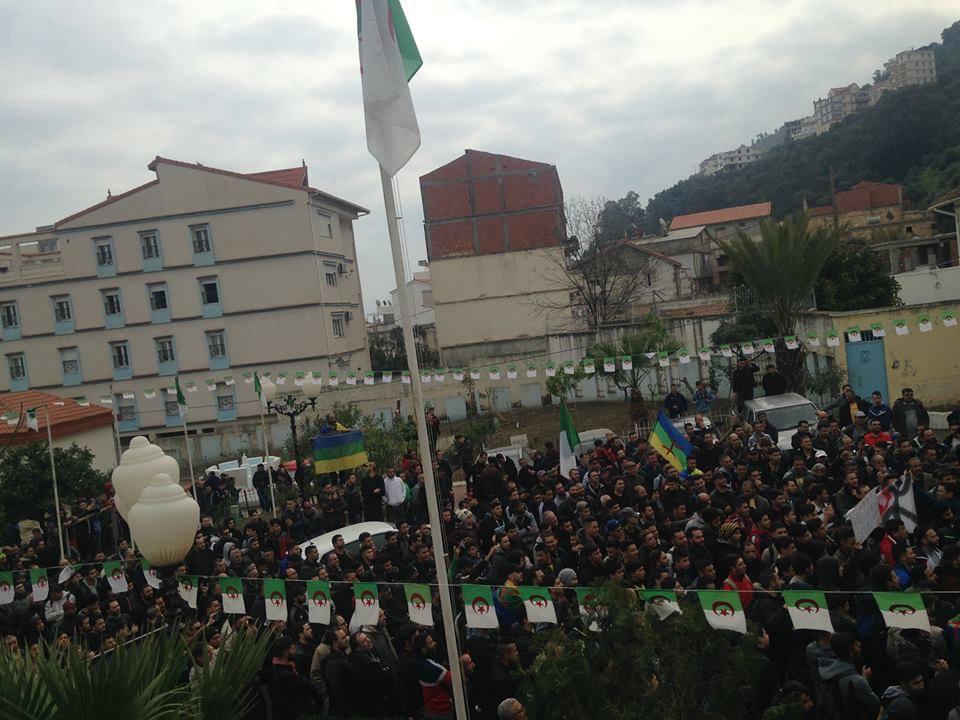 marche contre le cinquième mandat à Tichy le jeudi 21 février 2019 1103