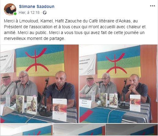 Slimane Saadoun à Aokas  le samedi 28 septembre 2019 - Page 2 11052
