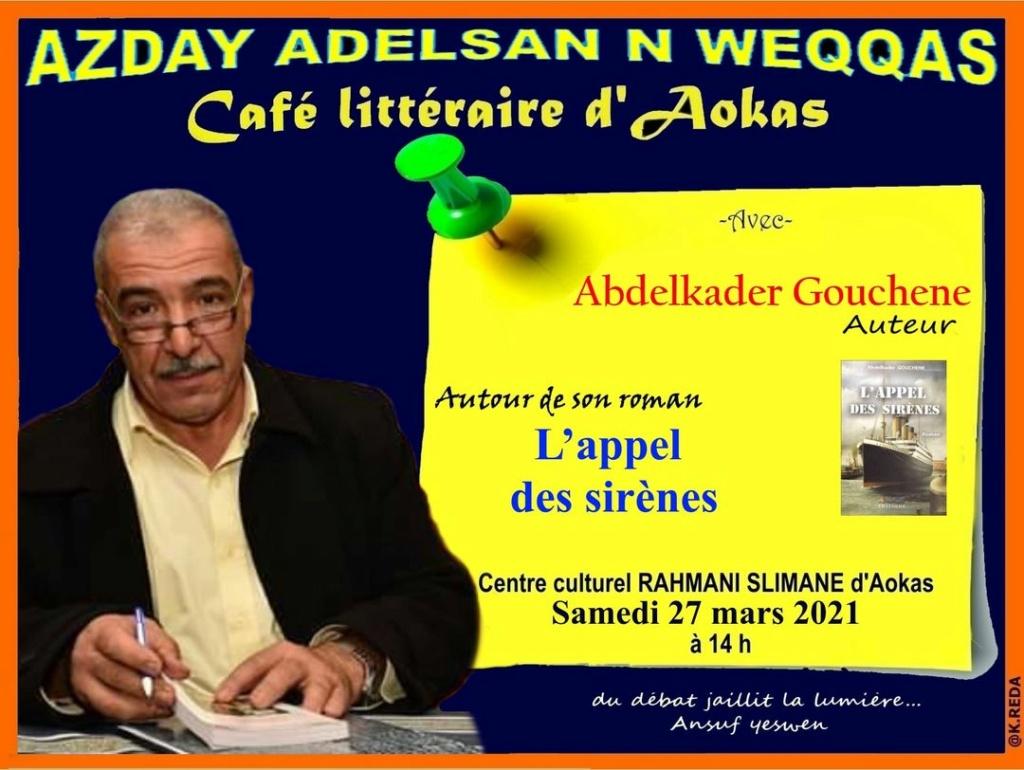 Café littéraire d'Aokas: conférences de l'année 2021 111011