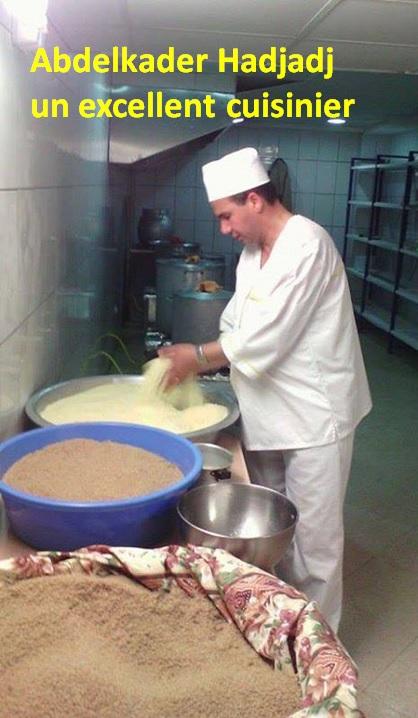 Abdelkader Hadjadj, un excellent cuisinier pour vos fêtes de mariages à Aokas et ses environs 111100