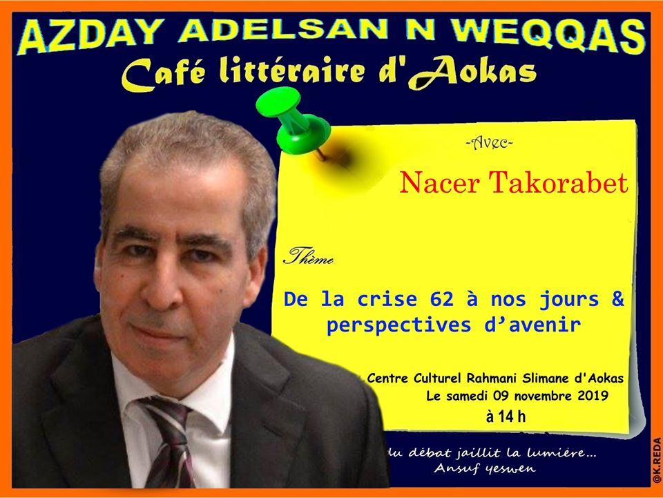 Nacer TAKORABET  à Aokas le samedi 09 novembre 2019 11278