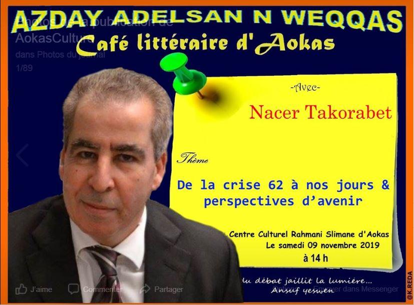 Nacer TAKORABET  à Aokas le samedi 09 novembre 2019 11279