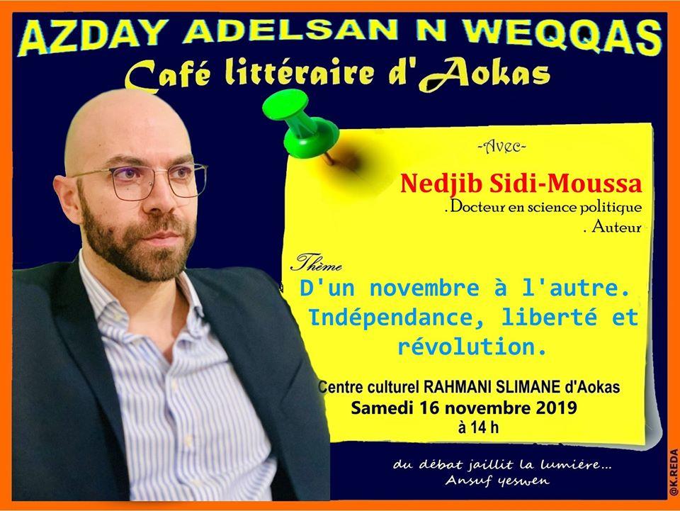 Nedjib Sidi Moussa  à Aokas le samedi 16 novembre 2019 11280