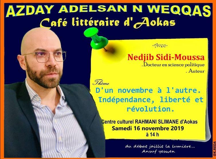 Nedjib Sidi Moussa  à Aokas le samedi 16 novembre 2019 11281