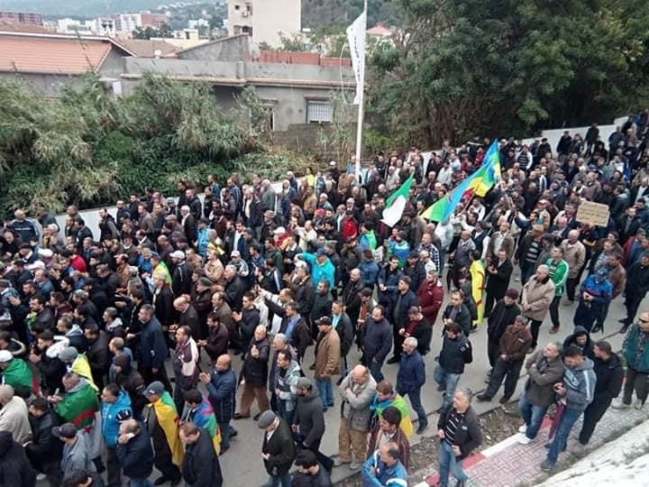 Marche à Aokas le samedi 16 novembre 2019 pour un changement radical du système 11331