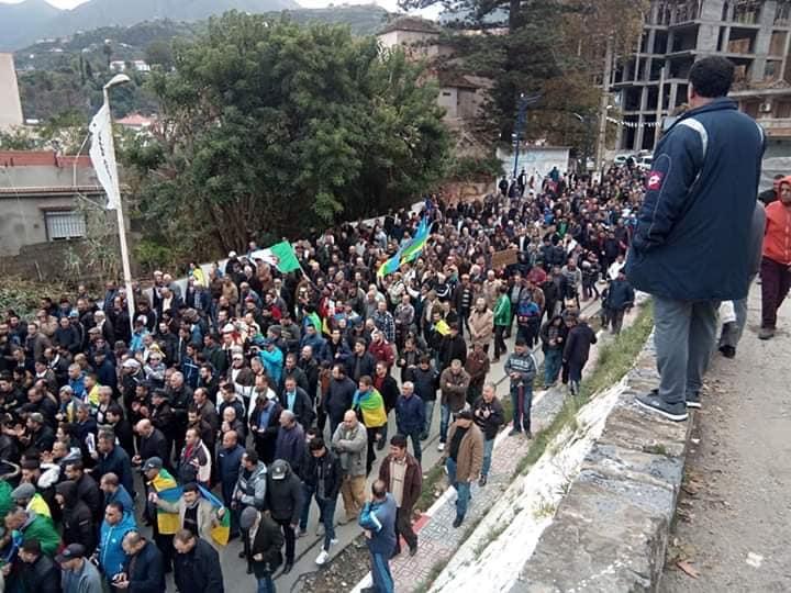Marche à Aokas le samedi 16 novembre 2019 pour un changement radical du système 11332