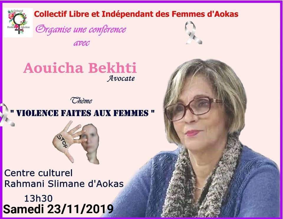 Aouicha Bakhti à Aokas le samedi 23 novembre 2019 11407