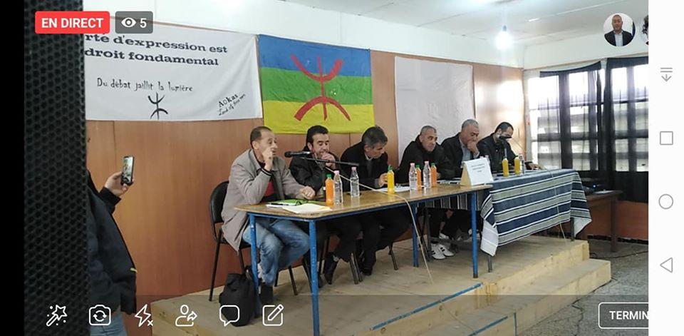 conférence du Pacte de l'alternative Démocratique à Aokas le mercredi 20 novembre 2019  11412