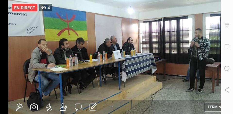 conférence du Pacte de l'alternative Démocratique à Aokas le mercredi 20 novembre 2019  11414