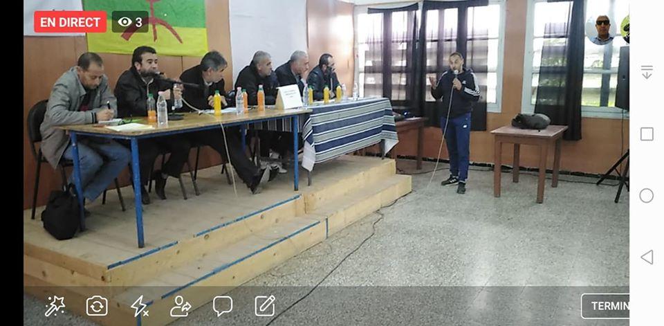 conférence du Pacte de l'alternative Démocratique à Aokas le mercredi 20 novembre 2019  11416
