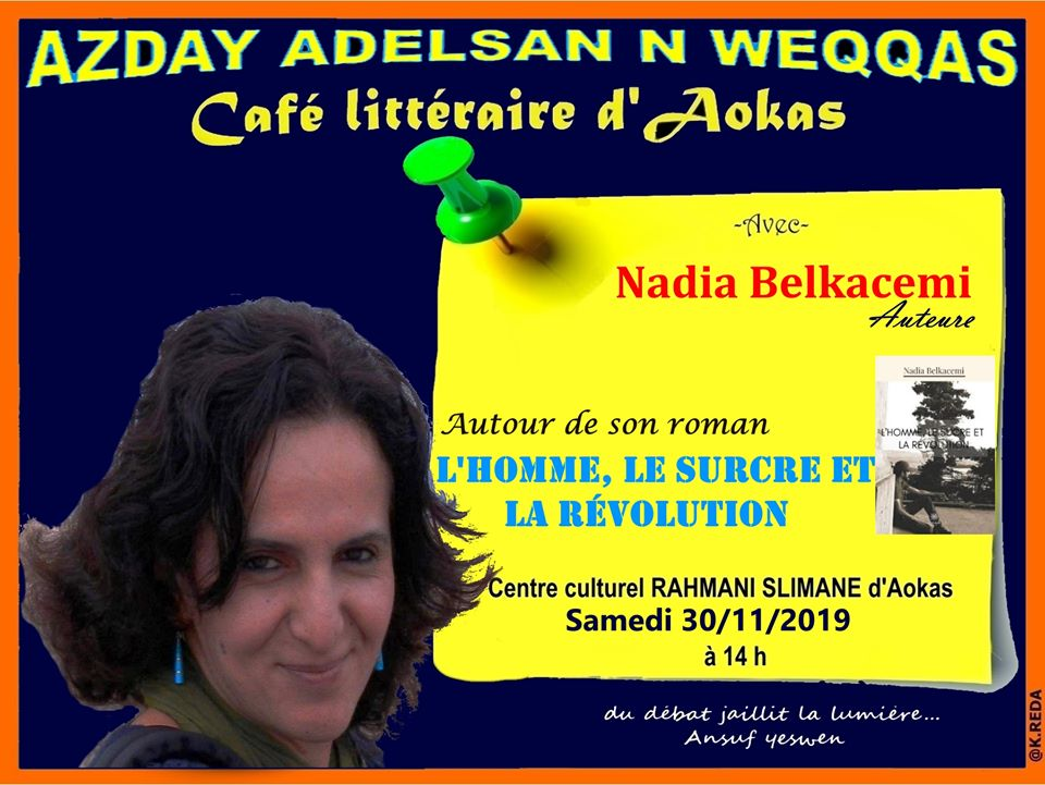 Nadia Belkacem à Aokas le samedi 30 novembre 2019 11457