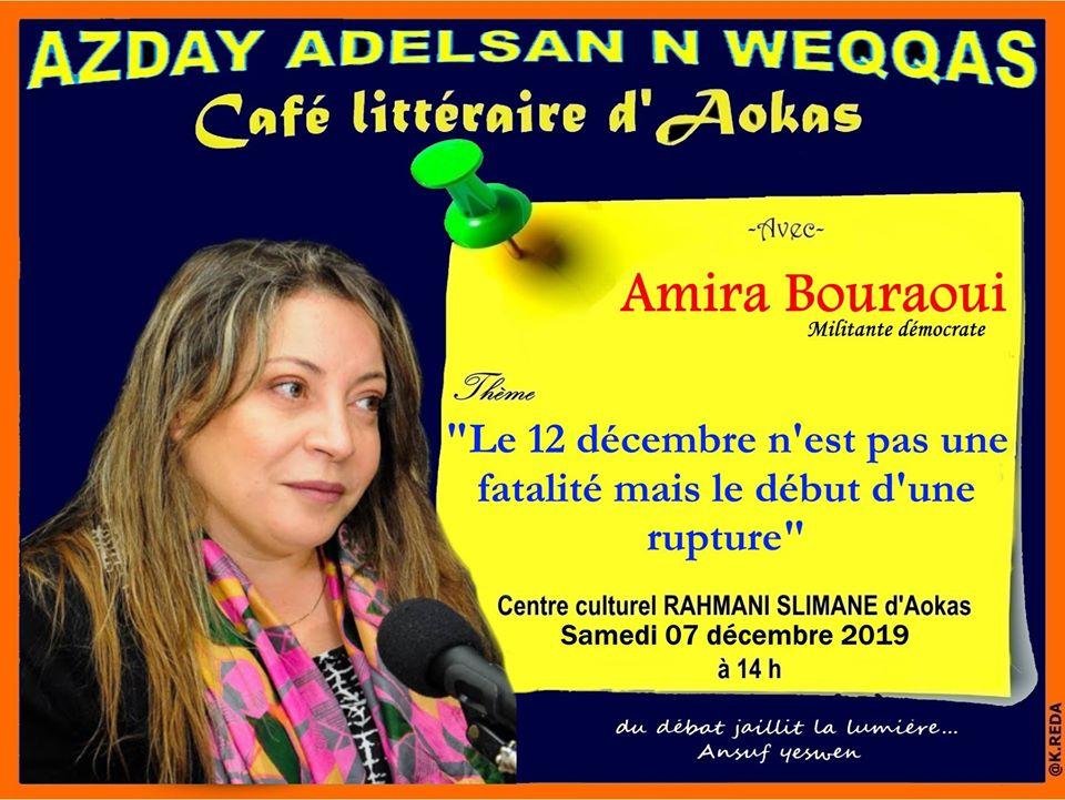 Amira Bouraoui à Aokas le samedi 07 décembre 2019 11578