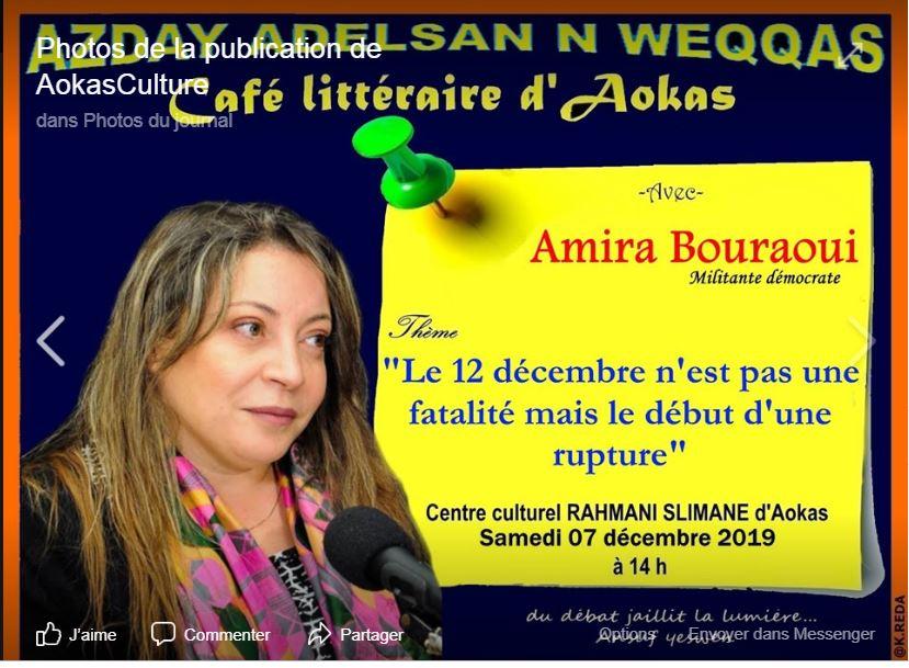 Amira Bouraoui à Aokas le samedi 07 décembre 2019 11579