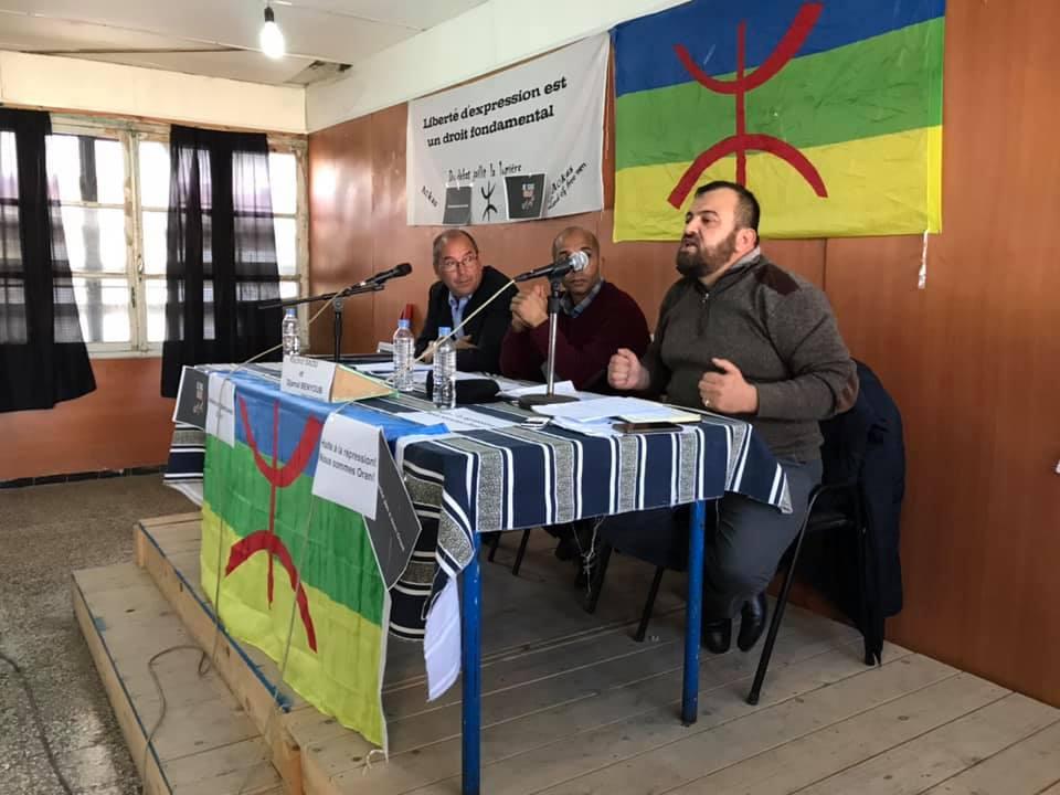 Rachid Saou et Djamel Benyoub, à Aokas le samedi 14 décembre 2019 11615