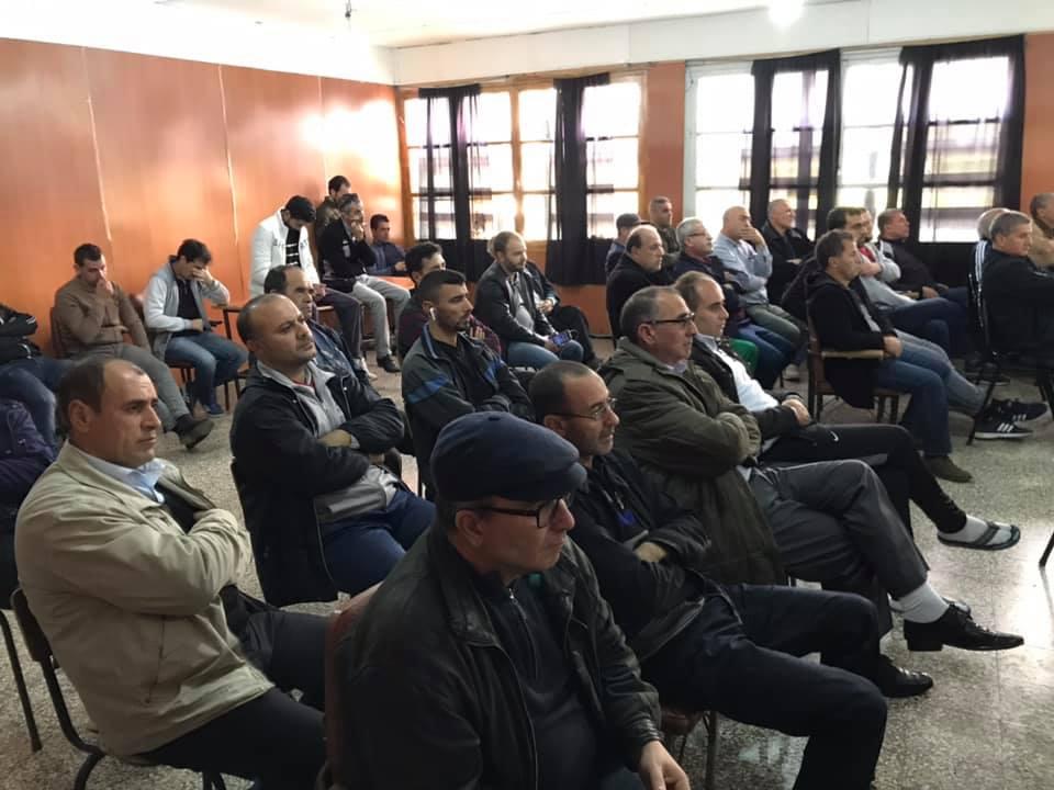 Rachid Saou et Djamel Benyoub, à Aokas le samedi 14 décembre 2019 11617