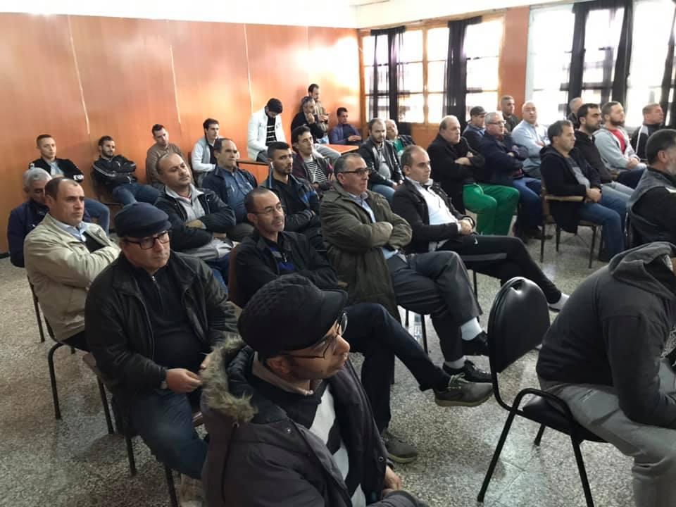 Rachid Saou et Djamel Benyoub, à Aokas le samedi 14 décembre 2019 11618
